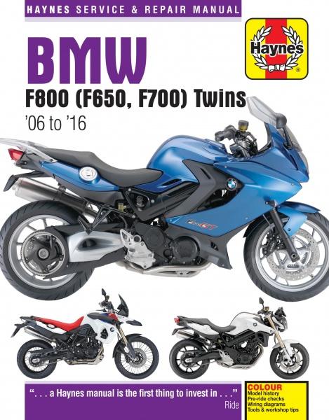 Haynes Bmw Reparasjonsh U00e5ndbok  F650  F700  U0026 F800 Twins  06
