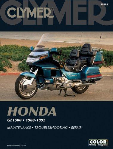 Clymer Manuals Honda Gl1500 Gold Wing 1988-1992