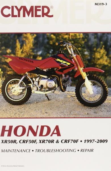 clymer manuals honda xr50r  crf50f  xr70r  u0026 crf70f  1997