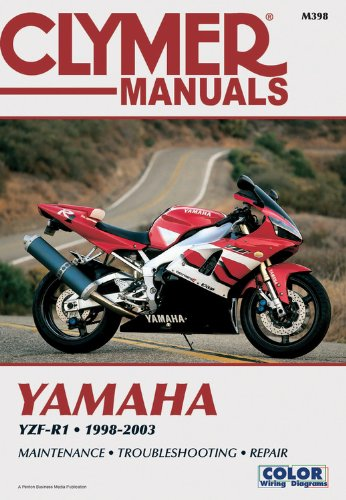 Clymer Manual  Yamaha Yzf