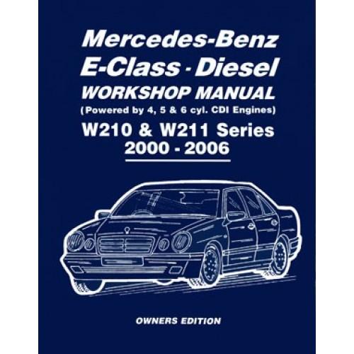 mercedes benz e class diesel workshop manual w210 w211 series rh bilboken no mercedes w211 manual service mercedes w211 manual