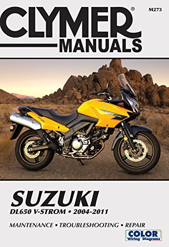 Clymer Manual  Suzuki Dl650 V-strom 2004-2011