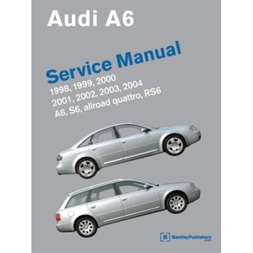 Audi Reparasjonshåndbok/ Manual 1998-2004 A6, Allroad