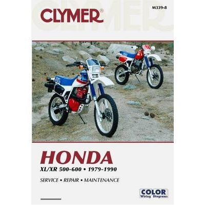 clymer manuals honda xl xr 500 600 haynes reperasjonsh ndb ker og rh bilboken no 1982 honda xl500r wiring diagram XL500R 82
