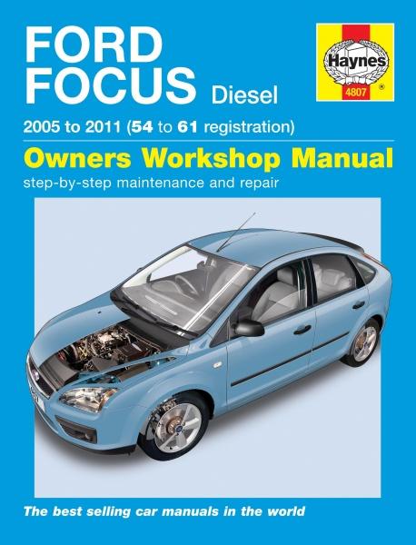 haynes reparasjonshandbok ford focus diesel