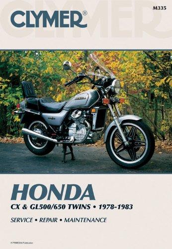 Clymer Manuals Honda Cx And Gl500  650 1978-1983